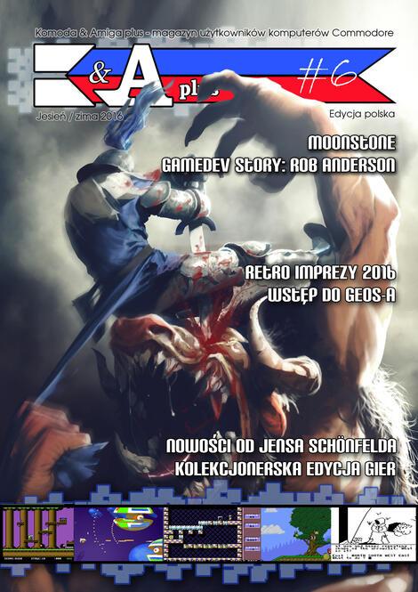 [c64] Komoda & Amiga Plus 2/2016 (nr 6) en/pl