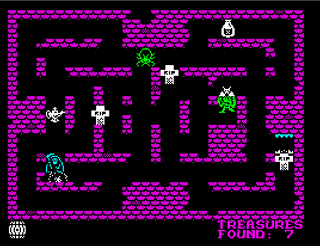 ZX Spectrum - Spectaculator - Dungeon Raiders