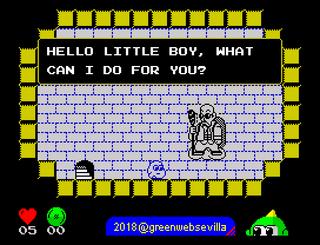 ZX Spectrum - Spectaculator - GIMMICK YUMETARO ODYSSEY