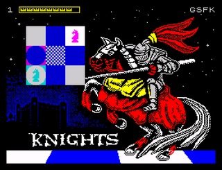 ZX Spectrum - Spectaculator - Knights