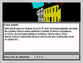 ZX Spectrum - Spectaculator - Tajemnica Carmen Strasse 35