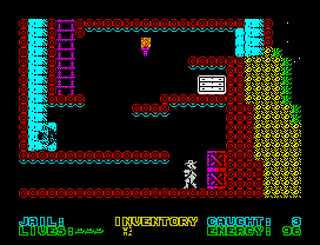 ZX Spectrum - Spectaculator - The Adventures Of Jane Jelly - The Egg Diamond