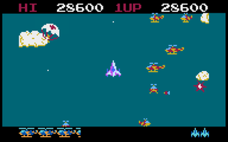Altirra - Atari - Time Pilot