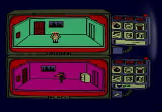Amstrad CPC Devilmarkus CPCDesktop Spy vs Spy