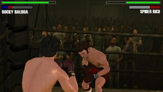 SONY PSP PPSSPP Rocky Balboa Ubisoft