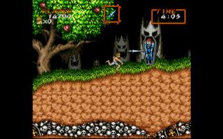 Super Nintendo Snes Snes9x Super Ghouls and Ghosts