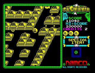 ZX Spectrum ZxMak2 Pacmania