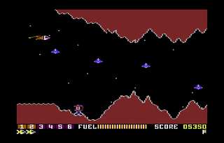 Atari 5200 Altirra Scramble Hack