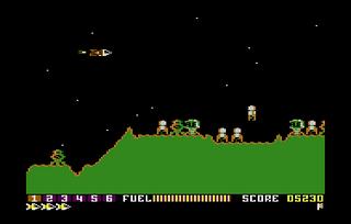 Atari 5200 Altirra Scramble