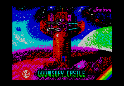 MultiPaint ZX Spectrum Doomsday Castle