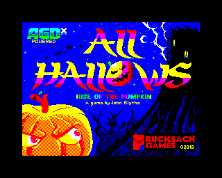 ZX Spectrum All Hallows - Rise of the Pumpkin