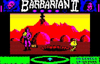 Acorn BBC Micro Pantheon Barbarian II