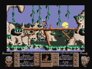 Amiga WinUAE Flimbo Quest