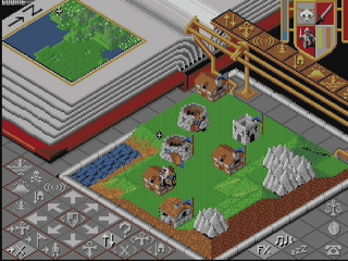 Amiga WinUAE Populous Promised Land