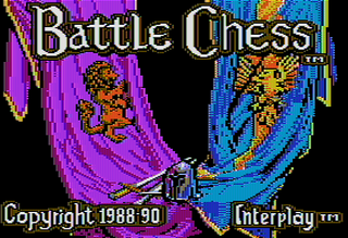 AppleII AppleWin Battle Chess