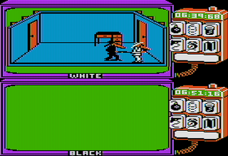 AppleII AppleWin Spy vs Spy