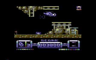 Commodore C64 Hox Cobra Force
