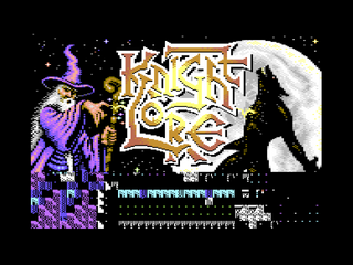 Commodore C64 Knight Lore