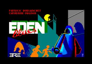 Amstrad CPC Caprice32 Eden Blues