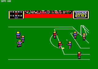 Amstrad CPC Caprice32 Match Day