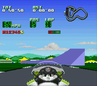 Super Nintendo Snes9x Kawasaki Superbike Challange