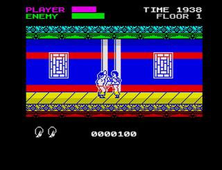 ZX Spectrum Conversion Mr. Kung Fu