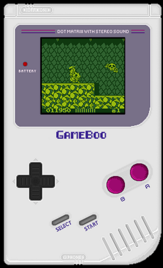 Nintendo GameBoy GameBoo Adventure Island