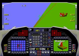 Sega Genesis Megadrive Blastem F22 Interceptor