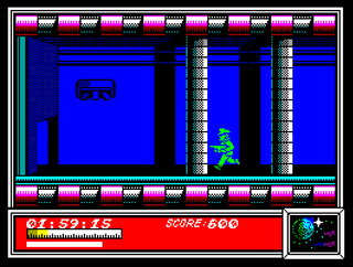 ZX Spectrum Unreal Speccy Dan Dare