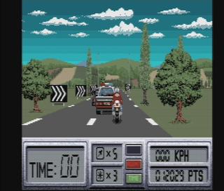 Amiga WinUAE Outrun 2:Europe