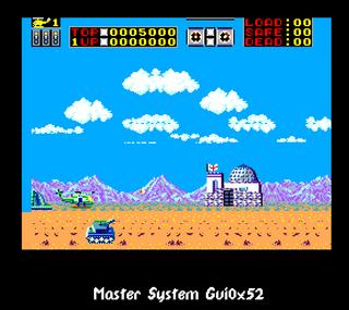 Sega Master System GUI0x52 Choplifter