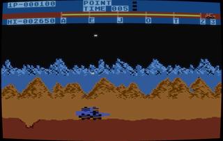 Atari Altirra Moon Patrol