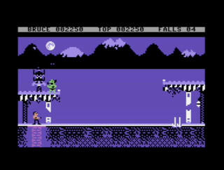 Commodore C64 Bruce Lee: Return Of Fury