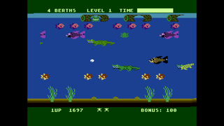 Atari Altirra Frogger 2