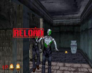 Sega Saturn SSF The House of Dead