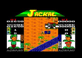 Amstrad CPC Caprice Forever Jackal