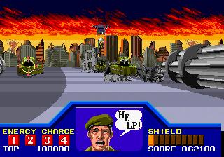 Arcade Final Burn Shuffle Enforce