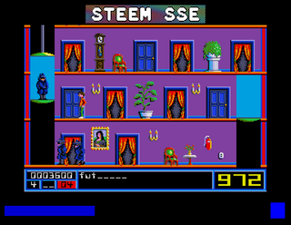 Atari ST Steem SE Mission Elevator