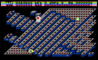 Atari XE Altirra Frantic