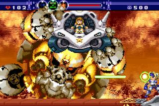 Nintendo GameBoy Advance mGBA Gunstar Future Heroes