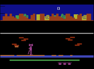 atari 2600 Stella Pursuit of the Pink Panther
