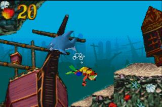 Gameboy Advance VBAdvance-m Crash Bandicoot - the Huge Adventure