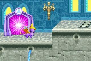 Nintendo GameBoy Advance mGBA Spyro Orange The Cortex Conspiracy