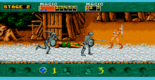 Atari ST Steem SSE Golden Axe