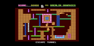 Atari XE/XL Altirra Monty on the Run