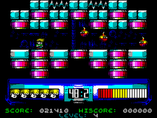 Zx Spectrum YRGB Space Monsters meet THE HARDY