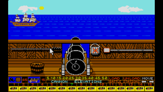 Atari ST Steem SSE Pirates of the Barbary Coast