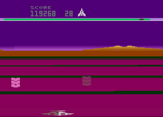 Atari 2600 VCS Stella Buck Rogers Planet of Zoom
