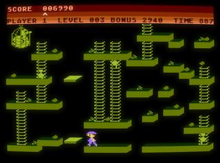 Atari XE/XL Altirra Chuckie Egg