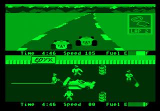 Atari XE/XL Altirra Pitstop II